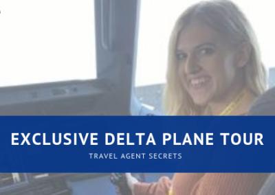 Exclusive Delta A350 Tour